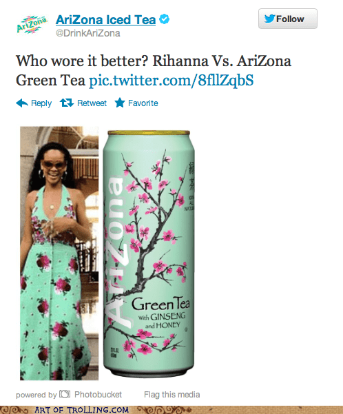 arizona rihanna twitter who wore it better - 6534808064