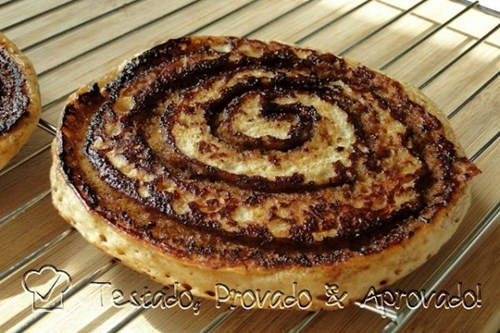Afternoon Snack cinnamon roll pancakes