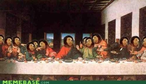 jesus last supper restoration - 6534924288