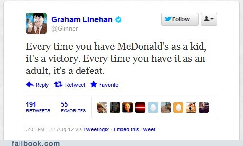 graham linehan McDonald's shamrock shake