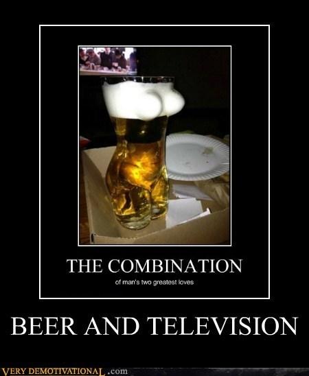 beer,bewbs,television
