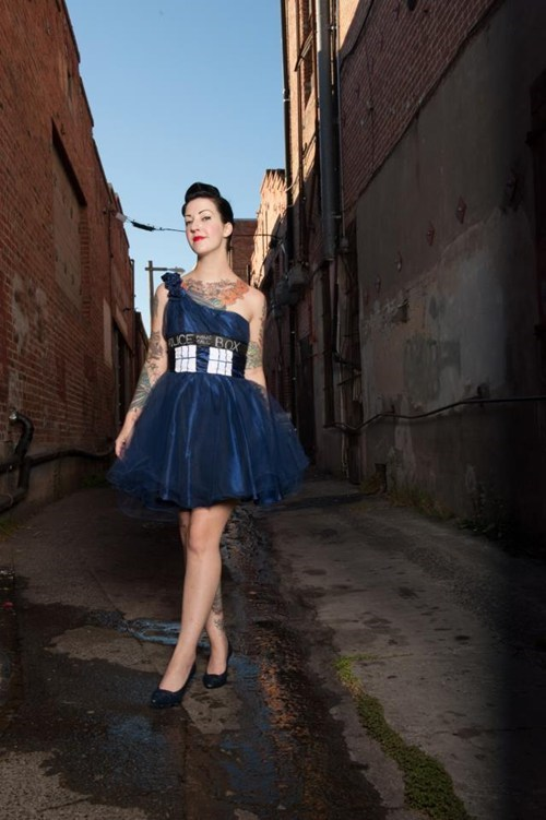 doctor who dress dresses geek fashion tardis