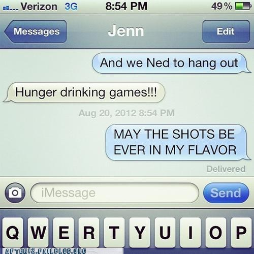just like the real thing may the odds phoner shots hunger games - 6534994432
