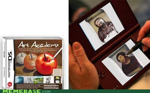 art academy,jesus,restoration,video games