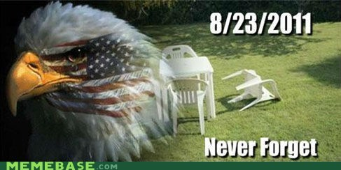 america earthquake lawn chairs never forget Sad tragedy - 6535135232