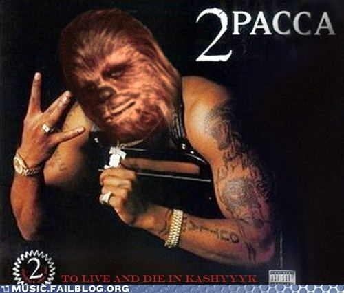 2Pac chewbacca star wars tupac - 6535253760