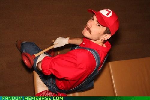 cosplay mario Super Mario bros video games - 6535542016