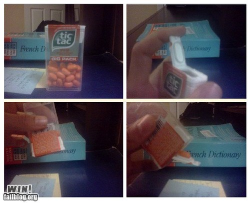 clever,Lifehack,pro tip,tic tac