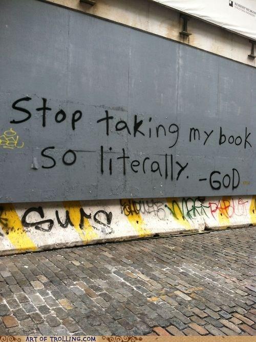 god graffiti IRL literal - 6535693056