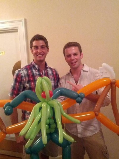 balloon animals,cthulhu