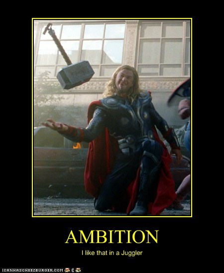 actor celeb chris hemsworth demotivational funny Movie summer blockbusters The Avengers Thor - 6535859712