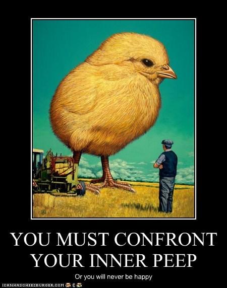 chick chicken giant inner peep - 6536028416