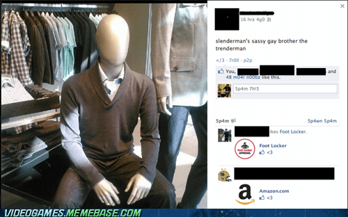 mannequin scary slenderman trenderman - 6536236800