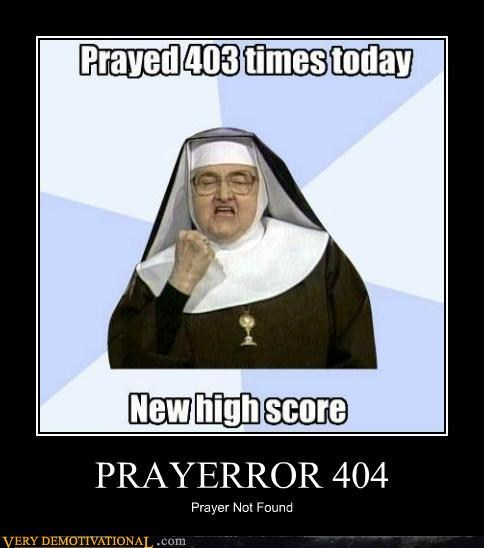 404,error,high score,prayer