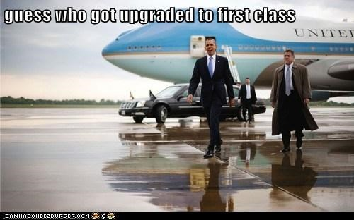 air force one,barack obama,first class,plane,upgraded