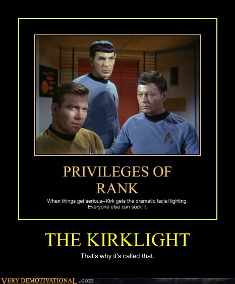 kirk spotlight Star Trek TV - 6536349696