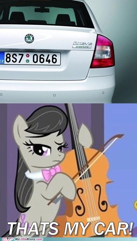 Octavia's Car