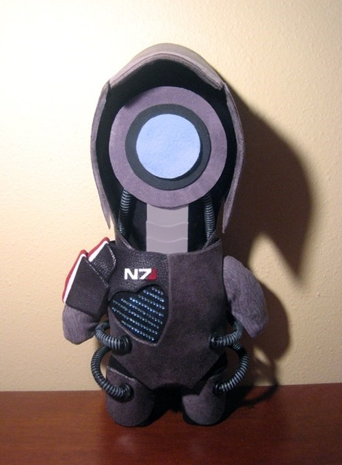 chibi Fan Art legion mass effect plushy video games - 6536770048
