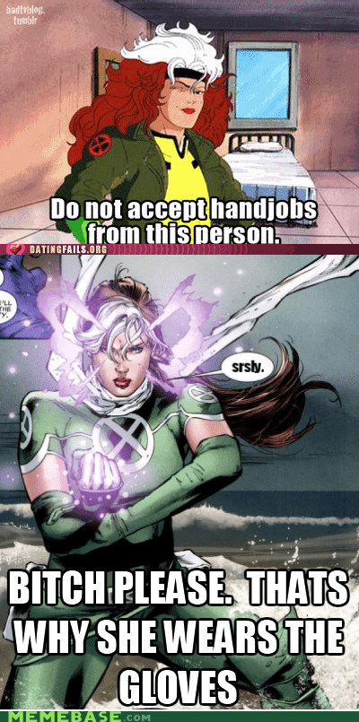 gambit,rogue,sexy times