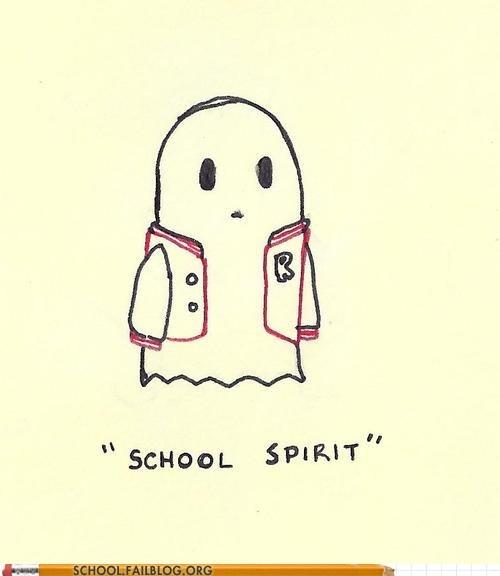 ghosts school spirit weve-got-spirit - 6537307136