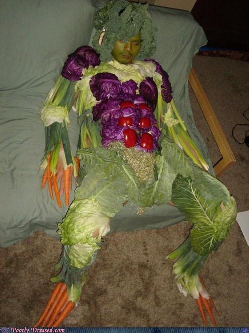 costume vegatables wierd wtf - 6537330944