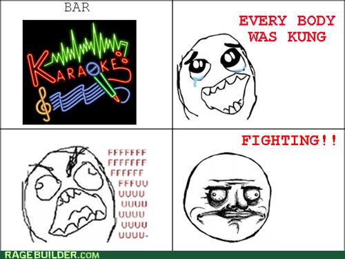 fu guy,karaoke,me gusta
