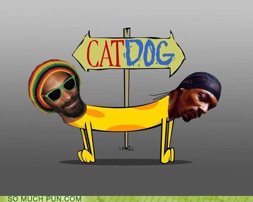 cartoons cat CatDog dogs lion literalism nickelodeon opposites snoop dogg snoop lion - 6537442304