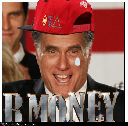 mispelling,Mitt Romney,money,R Money,rapper,teardrop