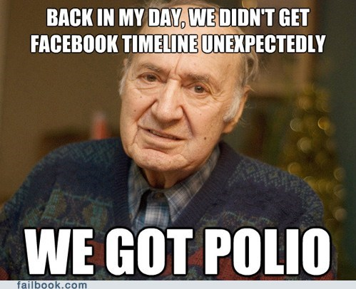 facebook timeline,jonas salk,polio,timeline