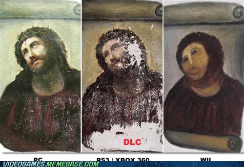 console,jesus,PC,repaint,wii