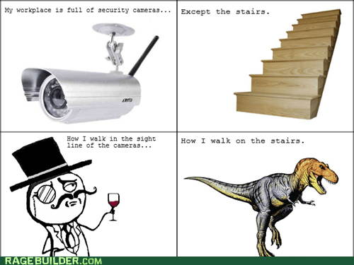 sir,security cameras,dinosaurs