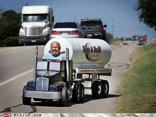 henry david thoreau,lolwut,tiny tanker truck,tiny truck