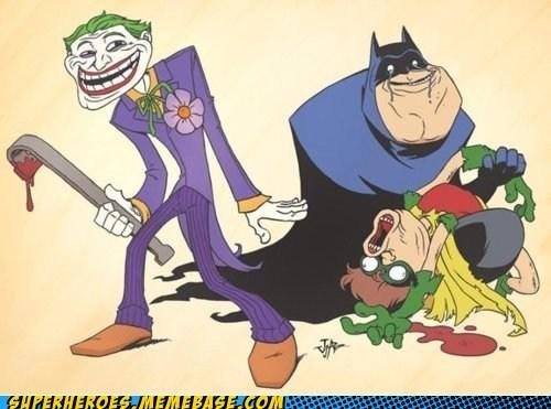 batman,rage,robin,troll