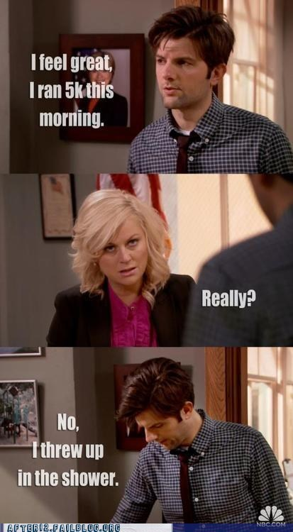 Ben Wyatt hangovers leslie knope Parks & Recreation parks-recreation - 6537794816