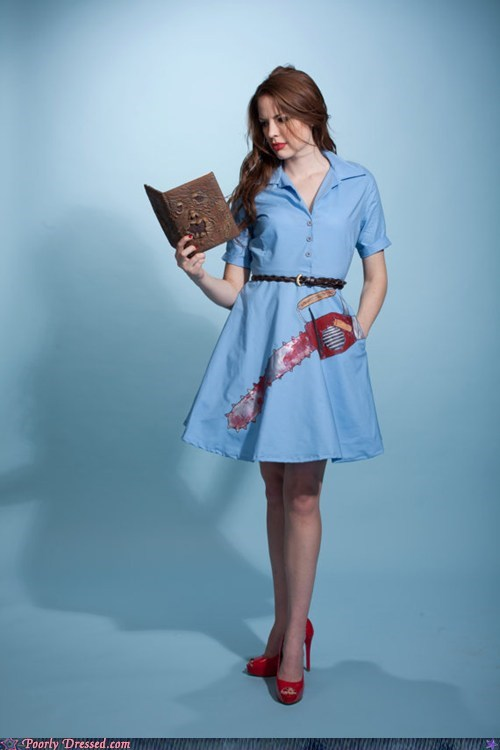 army of darkness chainsaw dress evil dead