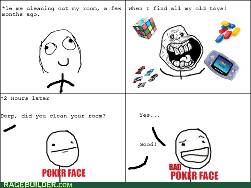 bad poker face,forever alone,toys