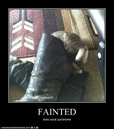 FAINTED toxic sock syndrome