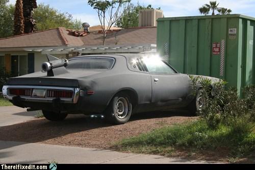 car car fail car fix exhaust hot rod roof spot the kludges - 6538114816