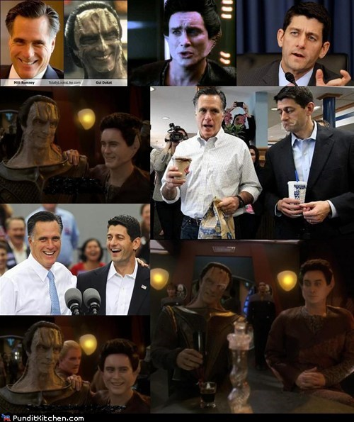 cardassians,gul dukat,Mitt Romney,paul ryan,scifi,Star Trek