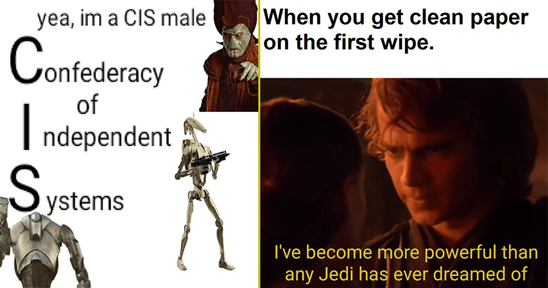 Funny star wars memes.