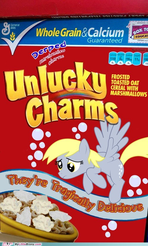 cereal crossover derpy hooves lucky charms muffins whats-up-bronies - 6538551808
