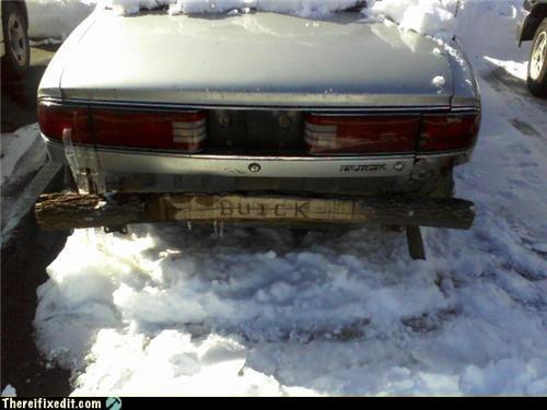 buick bumper wooden bumper - 6538631424