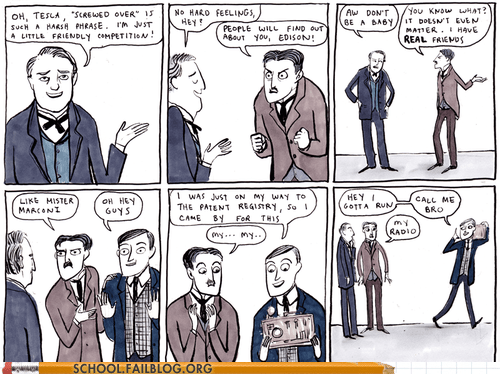 comics,edison,science,tesla