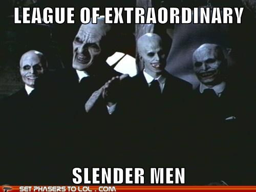 Buffy the Vampire Slayer league of extraordinary gentlemen scary slenderman the gentlemen - 6539856384