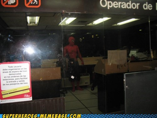 Spider-Man,Subway,underground