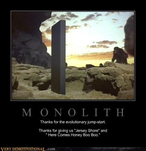 2001 evolution metaphor monolith - 6540119040