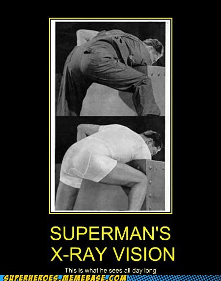 superman,undies,x-ray vision