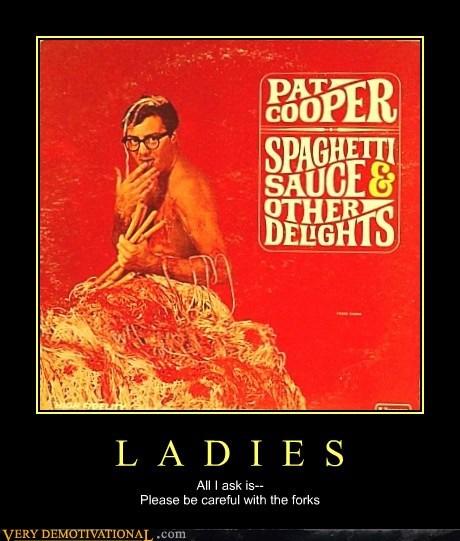 ladies,pat cooper,spaghetti