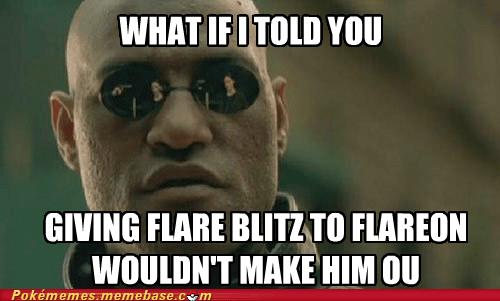 flare blitz flareon meme OU smogon - 6540488448