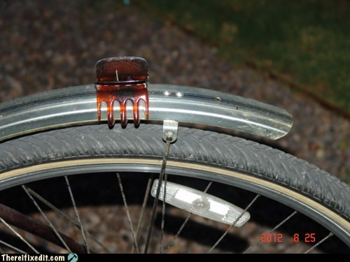 bicycle,bike,bike tires,hair clip,plastic fatigue